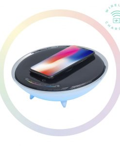ACA-LED-U1-mbeat Wireless Charging Station with RGB Colour Charging Case