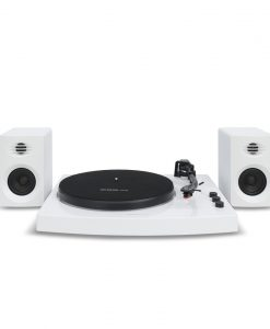 MB-TR518W-mbeat® Pro-M Bluetooth Stereo Turntable System (White)