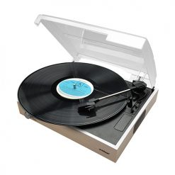 MB-USBTR68-mbeat® Wooden Style USB Turntable Recorder