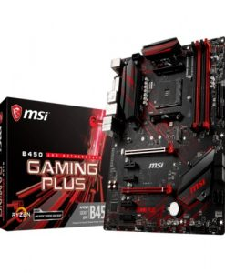 B450 GAMING PLUS-MSI B450 GAMING PLUS AM4 Ryzen ATX Motherboard 4x DDR4 6x PCIE 1xTurbo M.2  DVI HDMI RAID GbE LAN 6x SATA3 6x USB3.1