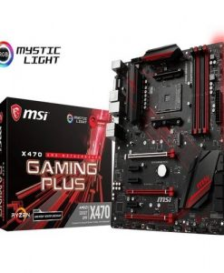 X470 GAMING PLUS-MSI X470 GAMING PLUS ATX Motherboard - AM4 Ryzen 4xDDR4 6xPCI-E 2xM.2