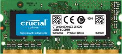 CT102464BF160B-Crucial 8GB (1x8GB) DDR3 SODIMM 1600MHz 1.35 Voltage Single Stick Notebook Laptop Memory RAM