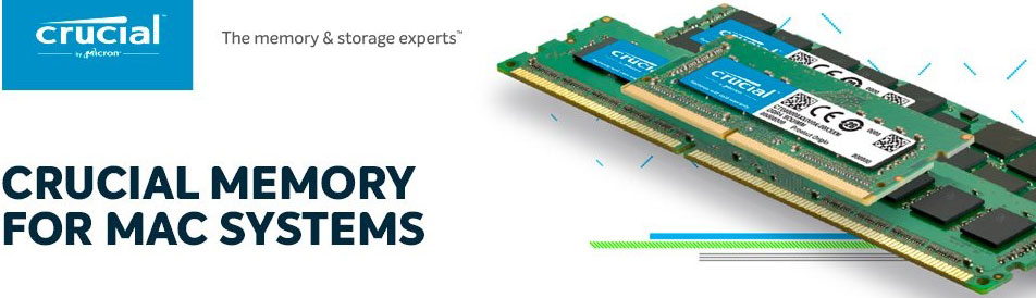 CT8G4S24AM-Crucial 8GB (1x8GB) DDR4 SODIMM 2400MHz for MAC Single Stick Desktop MAC Memory RAM