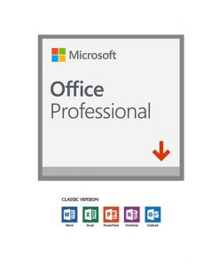 269-17070-Microsoft Office Professional 2019 (32/64 BIT) 1 User - (ESD) ELECTRONIC LICENSE. Word