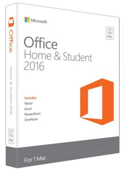 GZA-00984-Microsoft Office Mac Home & Student 2016- No DVD Retail Box (LS) > SMS-OFHS2019-ML-1U