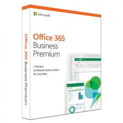 KLQ-00431-Microsoft Office 365 Business Premium Retail English 1YR Subscription Media less