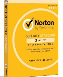 21369607-Norton Security Standard 2 Device Retail Box - Compatible with PC