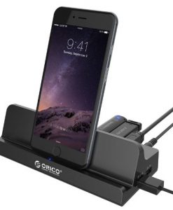 ORICO SH4C2-ORICO 4-Port USB3.0 Universal Docking Station for Cellphone and Tablet with 1M USB3.0 Cable
