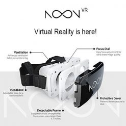 ELENOONVR-NOON VR Virtual Reality Headset - Provides end-to-end solution for sharing and experiencing VR experiences. Virtual Reality. Any phone. Anywhere. http