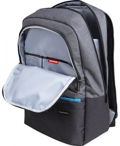 """ASCEND-BP.GREY-Promate Ascented-BP 15.6"""" Laptop Backpack With Multiple Pockets - GERY"""