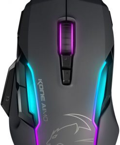 ROC-11-815-GY-AS-Roccat KONE AIMO RGBA Smart Customization Gaming Mouse (Grey Version)