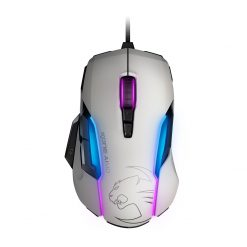 ROC-11-815-WE-AS-Roccat KONE AIMO RGBA Smart Customization Gaming Mouse (White Version)