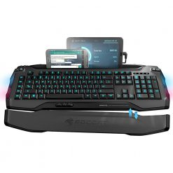 ROC-12-231-GY-AS-Roccat SKELTR Smart Communication Gaming Keyboard Grey