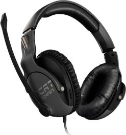 ROC-14-620-Roccat KHAN PRO Competitive High Resolution Gaming Headset (Grey Version)