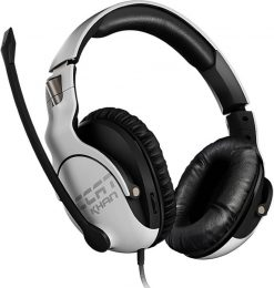 ROC-14-621-AS-Roccat KHAN PRO Competitive High Resolution Gaming Headset (White Version)