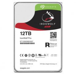 "ST12000NE0007-Seagate 12TB 3.5"" IronWolf PRO NAS SATA3 NAS 24x7 Performance 7200 RPM 256MB Cache HDD. (ST12000NE0007) 5 Years Warranty (LS)"