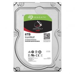 """ST6000VN0033-Seagate 6TB 3.5"""" IronWolf NAS 5900 RPM 256MB Cache SATA 6.0Gb/s 3.5"""" HDD ST6000VN0033"""