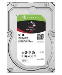 """ST6000VN0033-Seagate 6TB IronWolf NAS 3.5"""" 5900 RPM 256MB Cache SATA 6.0Gb/s 3.5"""" HDD ST6000VN0033"""