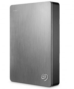 "STDR5000301-Seagate Backup Plus 5TB 2.5"" Silver USB3.0 Backup Plus Portable - 2 Years Warranty"