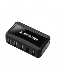 504348-Sennheiser Multi USB Power Distributor  - charges  up to 7 headsets via CH 10 cables. Requires DW Office power supply  and CH 10 cables (not included)