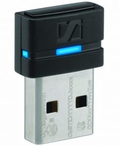 BTD 800 USB-Sennheiser Dongle for Presence Uc and MB Pro 1/2 UC. Small dongle for Bluetooth telecommunication