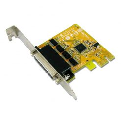 SER6456AL-Sunix SER6456AL PCIE 4-Port Serial RS-232 Card - Low Profile