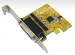 SUN-SER6456A-Sunix 4 Port PCIE Serial Card RS232