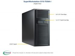 SYS-7039A-I-Supermicro SuperWorkstation 7039A-I