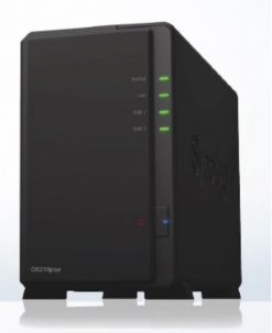 "DS218PLAY-Synology DiskStation DS218PLAY 2-Bay 3.5"" Diskless 1xGbE NAS (HMB)"