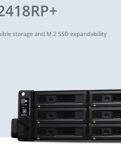 "RS2418+-Synology RackStation RS2418+ 12-Bay 3.5"" Diskless 4xGbE NAS (2U Rack) (SMB)"