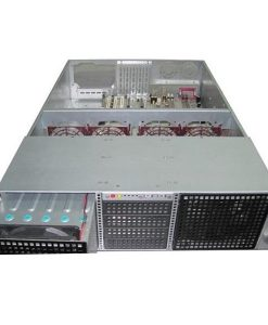 """TGC-39650G-TGC Rack Mountable Server Chassis 3U 650mm Depth with 14x3.5"""" HDD cages and ATX PSU Window - no PSU"""