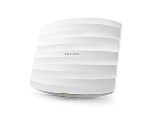 EAP320-TP-Link EAP320 1200Mbps Wireless AC1200 Dual Band Gigabit Ceiling Wall Mount Access Point PoE 1x1Gbps 2x7dBi IEEE 802.3at Multi-SSIDs