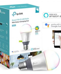 LB130-TP-Link LB130 Smart Wi-Fi LED Light Bulb RGB Multicolour Dimmable A19 800lm 2500K-9000K 11W 240V 180 Degree iOS Android Google Assistant Amazon Alexa