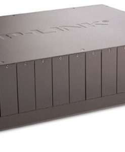 """TL-MC1400-TP-Link MC1400 19"""" 2U Rackmount Chassis for 14-Slot media converters redundant power supply Hot-Swappable Mounted two cooling fans"""