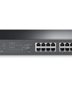 TL-SG1016PE-TP-Link TL-SG1016PE 16-Port Gigabit Desktop/Rackmount Switch with 8-Port PoE+ 32Gbps IEEE 802.3af/at Priority Function Mac Address Auto-Learning