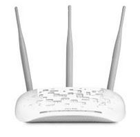 TL-WA901ND-TP-Link TL-WA901ND N450 Wireless N Access Point 2.4GHz (450Mbps) 1x100Mbps LAN 802.11bgn 3*5dBi Detachable Omni Directional Passive PoE WPS button