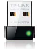 TL-WN725N-TP-Link TL-WN725N N150 Nano Wireless N USB Adapter 2.4GHz (150Mbps) 1xUSB2 802.11bgn Internal Antenna miniature design for Notebook Laptop