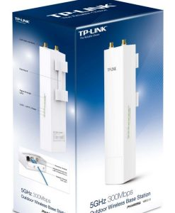 WBS510-TP-Link WBS510 5GHz N300 300Mbps Outdoor Wireless Base Station 27dBm passive PoE Weatherproof 50Km+ MIMO antenna ~NWTL-WBS210 LS