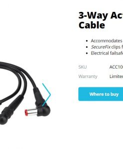 ACC1009AUX-Targus 3-Way Active DC Charging Cable