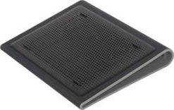 """AWE55AU-Targus Chill Mat™ Lap Fits Laptops upto 17"""" with Dual Fans - Black and Grey"""