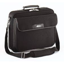 """CN01-Targus 15-16"""" Notepac Clamshell Case with Padded Compartment - Black"""