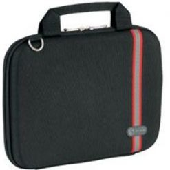 "TBD009 AU-Targus 10"" Racing Hard Case Racing Stripe Hardsided-Black (LS)"