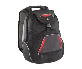 """TSB034AU-Targus 16"""" Repel SportBackpack Fits up to 16"""" NB Blk/Red/Grey"""