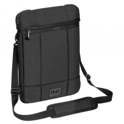 """TSS847AU-Targus 12"""" Grid High Impact Vertical Slipcase with Extreme Urban Protection & Weather Resistant- Black"""