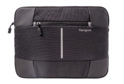 TSS87810AU-Targus 13-14'' Bex II Laptop Sleeve - Weather-resistant & rip-stop fabrication - Black with black trim