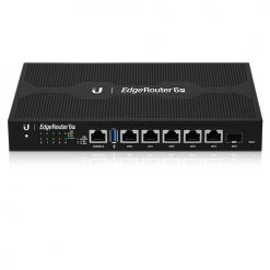 ER-6P-Ubiquiti EdgeRouter 6-Port Firewall Router with 24v PoE Output