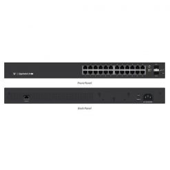 ES-24-LITE-AU-Ubiquiti EdgeSwitch Managed Gigabit Switch  24 Port with SFP 24 Port