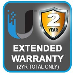EXTWAR-UBNT-2YR-2 Years Extended Return To Base (RTB)  Ubiquiti Warranty $50 value