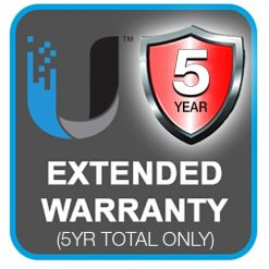 EXTWAR-UBNT-5YR-5 Years Extended Return To Base (RTB)  Ubiquiti Warranty $50 value