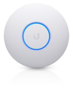 UAP-AC-PRO-AU-Ubiquiti UniFi AP AC PRO (Version-2) 802.11ac Dual Radio Indoor/Outdoor Access Point - Range to 122m with 1300Mbps Throughput (PoE- Included)